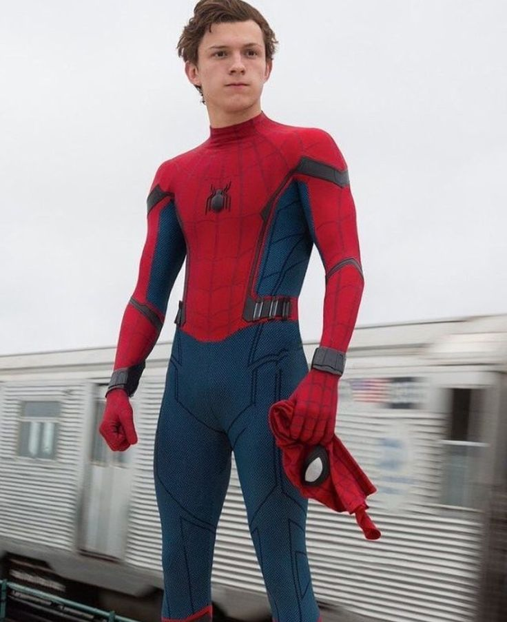 """The moment I saw the words """"Spiderman will return"""" after the post credit scene in the Civil war movie, I already commit to love the new spidey, Tom Holland. Then the first trailer came out, I set my heart immediately that he will be part of my marvelous life. See you soon, spidey! ❤ #Marvel #Spiderman #TomHolland #Avengers"""