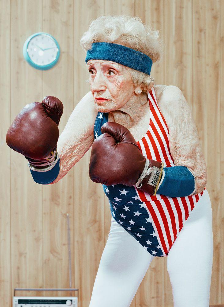 Los ancianos deportistas de Dean Bradshaw   Duendemad.com