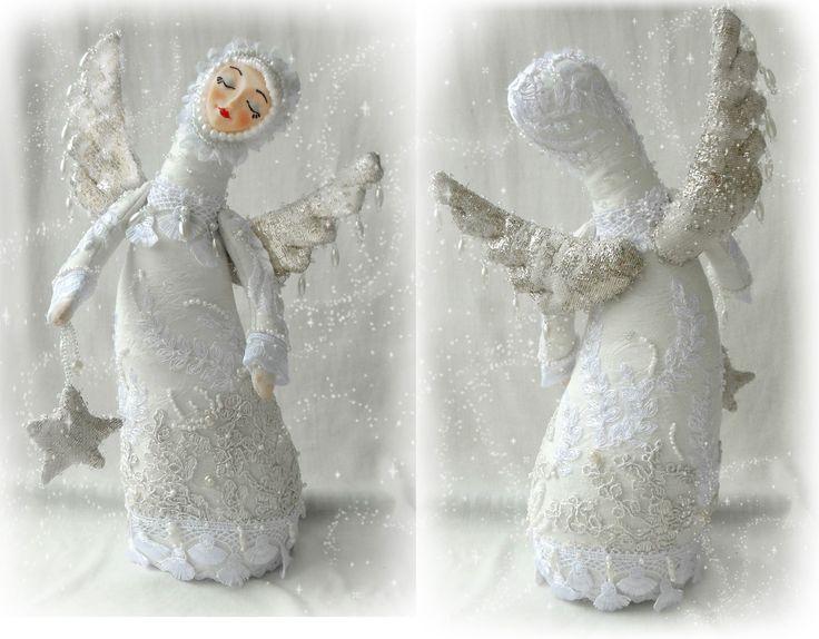 Куклы Ольги Турченко. Белый ангел.