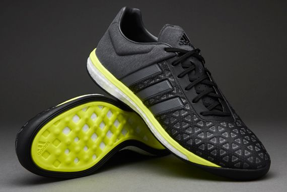 541b71aa3 adidas ACE 15.1 Boost - Core Black/Night Metallic/Solar Yellow | Shoes |  Adidas, Adidas sneakers, Mens football boots