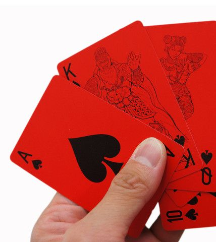 Deck of Cards Red | Cool Gift Ideas | Gifts for him | HOTTT.COM