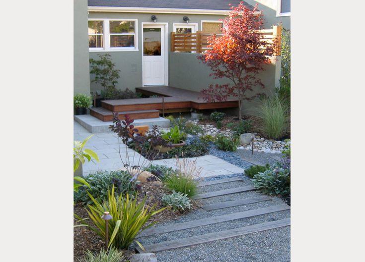 Berkeley Garden Jarvis Architects horizontal fence, mix