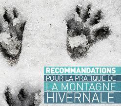 Recommandations pour la pratique de la montagne hivernale - ECOCITOYEN GRENOBLE