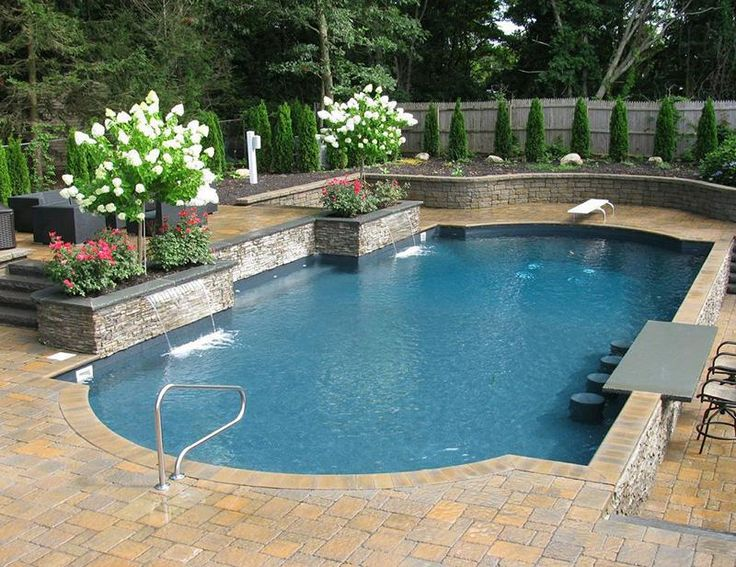 76 best Geometric Pool Designs images on Pinterest | Backyard ...