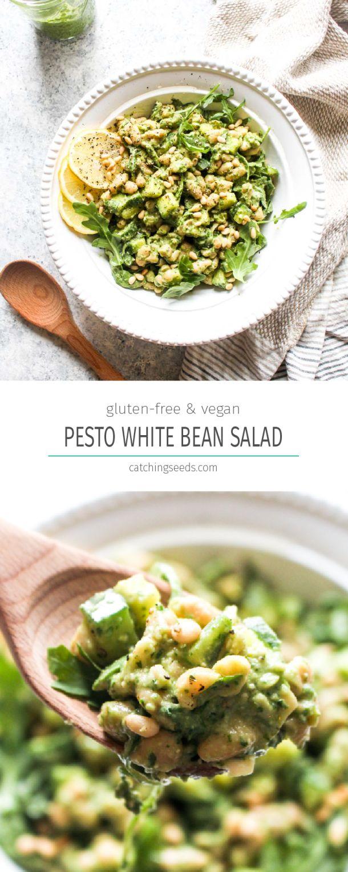 Pesto White Bean Salad