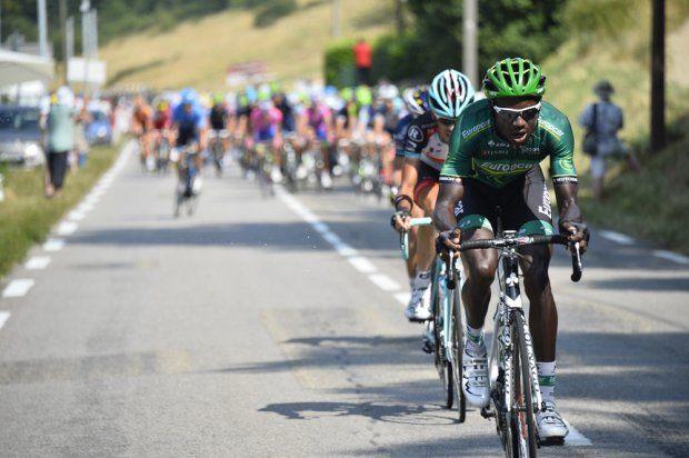 Tour de France 2013, Kevin Reza of Team Europecar, stage 15.