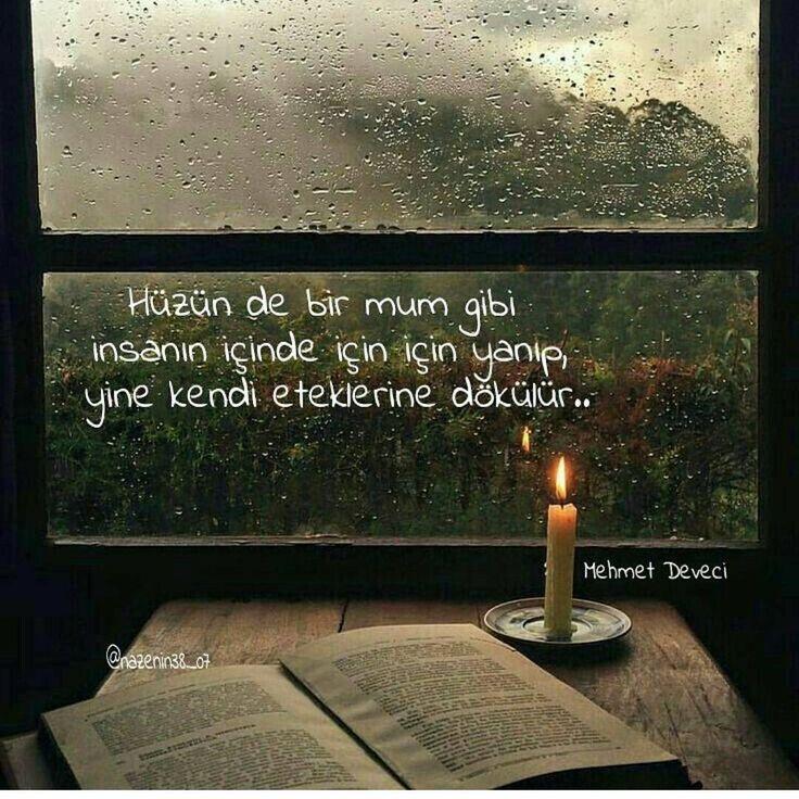 Hüzün de bir mum gibi insanın içinde için için yanıp, yine kendi eteklerine dökülür... - Mehmet Deveci (Kaynak: Instagram - mehmet_deveci_siirleri) #sözler #anlamlısözler #güzelsözler #manalısözler #özlüsözler #alıntı #alıntılar #alıntıdır #alıntısözler #şiir #edebiyat