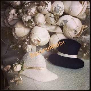 Bucuruk Hobi: Söz nişan nikah ve düğünlerde şapkalı gelinler içi...