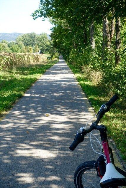 Mit dem Fahrrad an den Plattensee