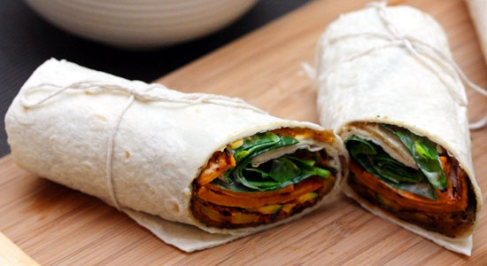 Chargrilled Vegetable Wrap Recipe - weightloss.com.au