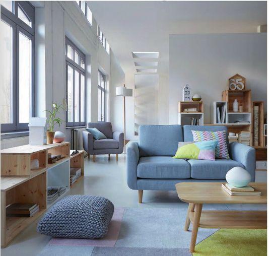 Les 571 meilleures images propos de for the home sur - La redoute meuble salon ...