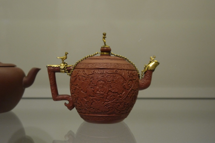 Rijks museum amsterdam - antique teapot