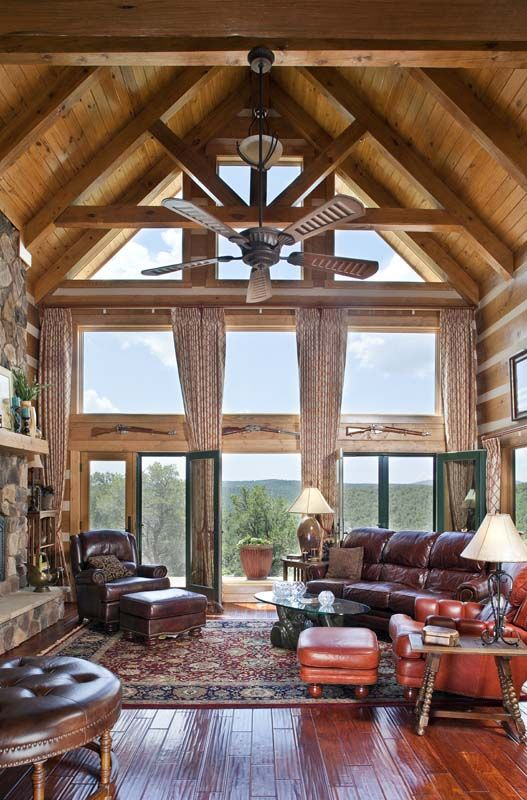 23 Best Great Rooms Images On Pinterest Log Houses Wood