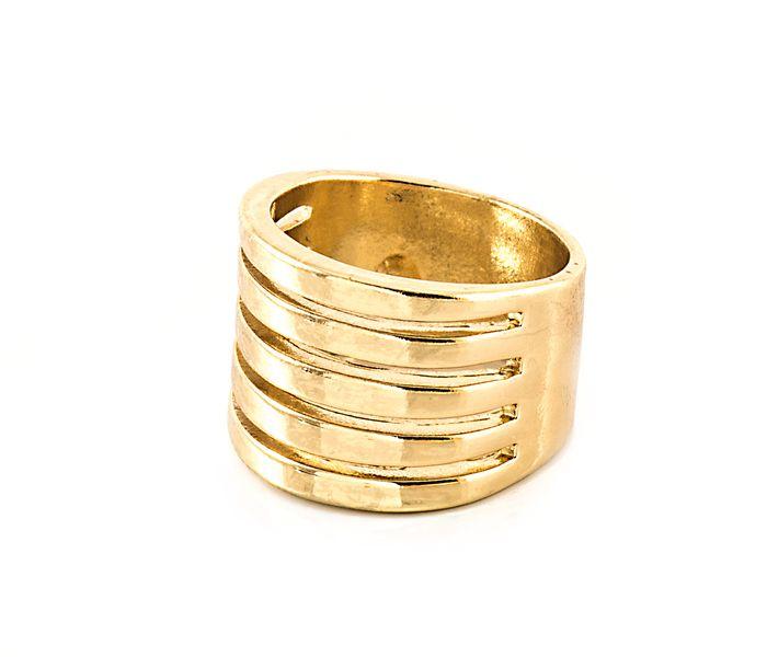Bizsu Gyűrűk Sheila arany