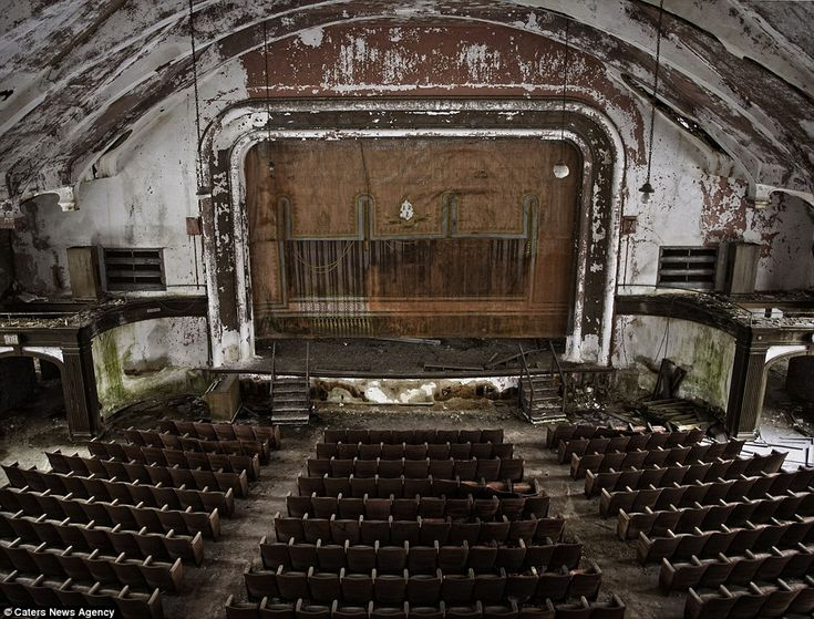Best Abandoned Places Images On Pinterest Abandoned Places - Photographer captures abandoned worlds time forgot