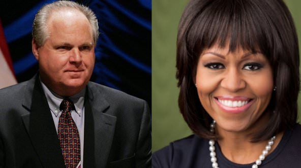 BOOM: Rush Reveals Michelle?s Perverted Past After She Dumps on Trump-----I think Michelle is a big, fat hypocrite with selective memory