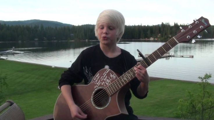 carson lueders 8 years old