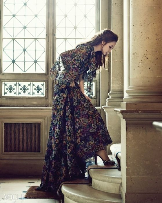 A Fairy Lady: Choi Ji-woo in Valentino for Vogue Korea November 2014
