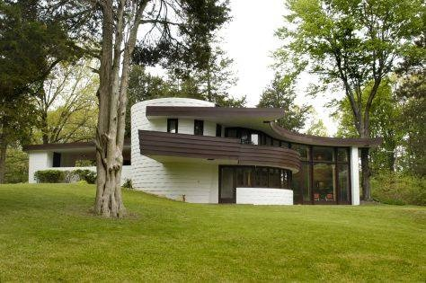 17 best images about exterior on pinterest lakes built - Frank lloyd wright architecture organique ...