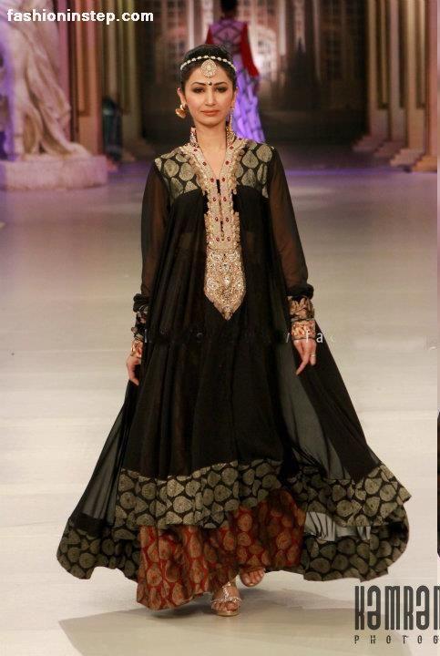 Saim Ali at Pantene Bridal Couture Week 2012 - Bridal Dresses #pakistani fashion