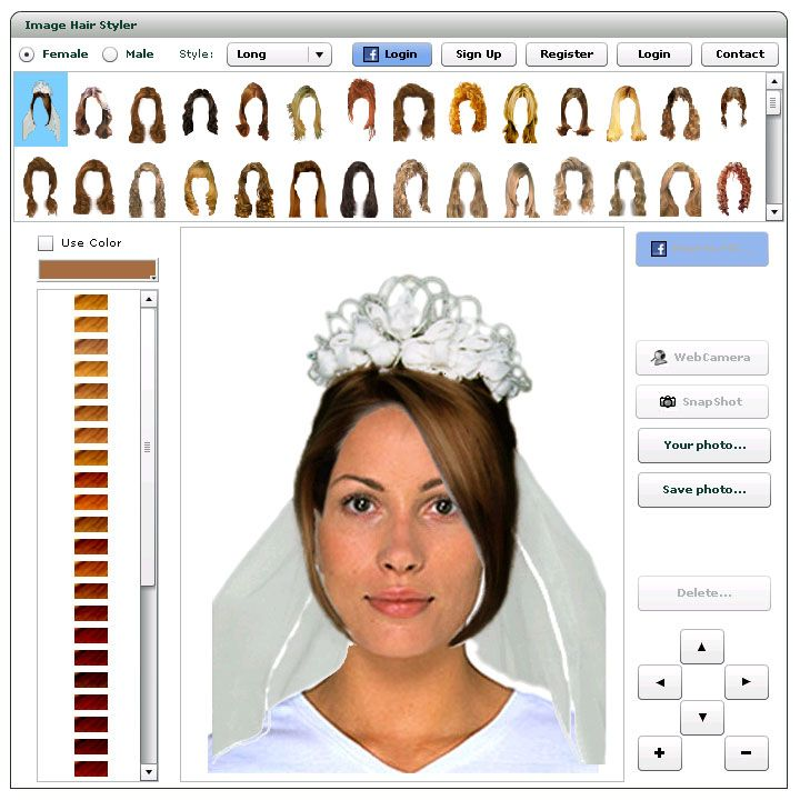 25 unique virtual hairstyles ideas on pinterest virtual virtualhairstylegenerator to try virtual hairstyles with your photo online urmus Image collections
