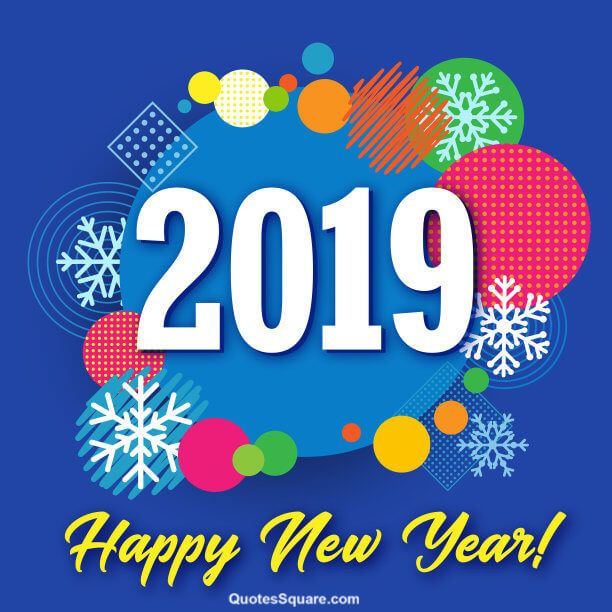 Best New Year 2019 Wallpaper  Happy new year images, Happy new
