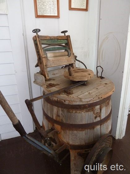 Old Fashioned Washing Machine Est Late 1800 S Old