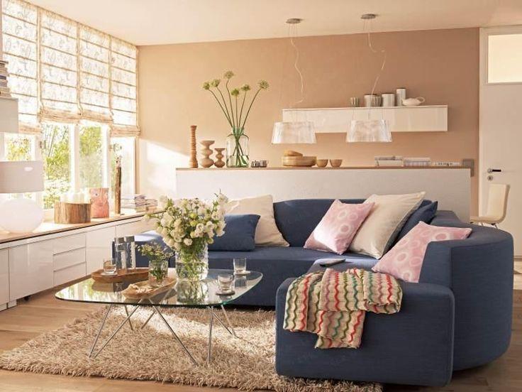 Wirkungsvolle Wandgestaltung Im Wohnzimmer Wir Lieben Farben An Der Wand Klar Dass Ihnen Die Tollsten Varianten Nicht Vorenthalten Wollen BG