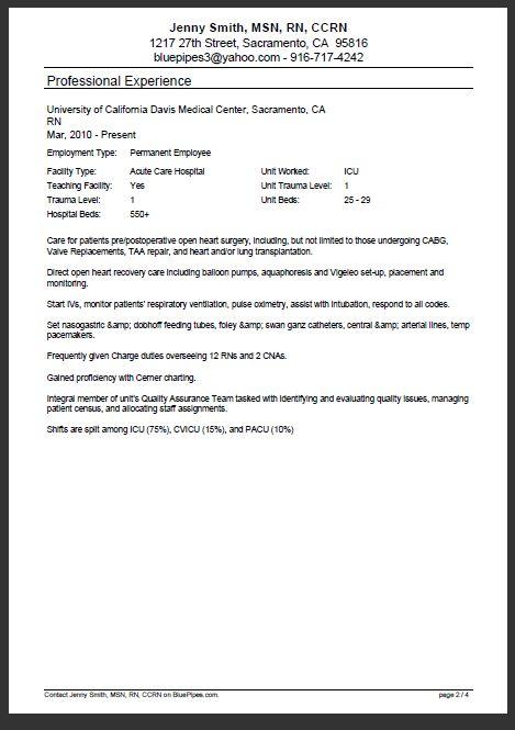 Více než 25 nejlepších nápadů na Pinterestu na téma Rn Resume - example of nursing resume