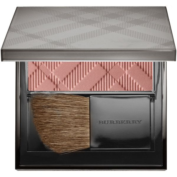 BURBERRY Light Glow - Natural Blush found on Polyvore featuring beauty products, makeup, cheek makeup, blush, burberry blush, burberry and powder blush