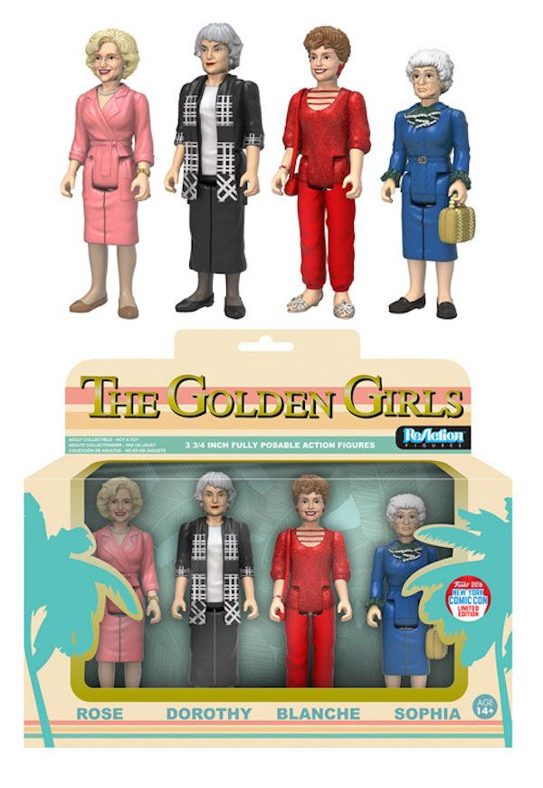 Funko Unveils 'Golden Girls' And 'Dark Crystal' Figures For NYC
