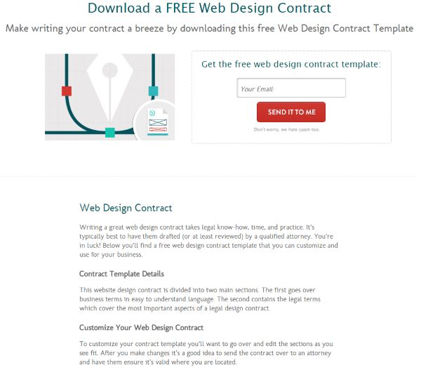 The 25+ best Web design contract ideas on Pinterest Contract - legal contracts template
