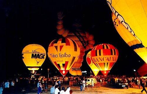 European Balloon festival in Igualada, Spain