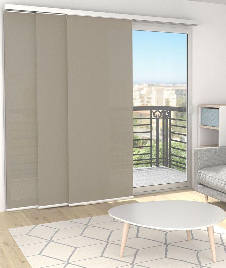 panneau japonais rideau japonais sur mesure stores stores penderie pinterest. Black Bedroom Furniture Sets. Home Design Ideas