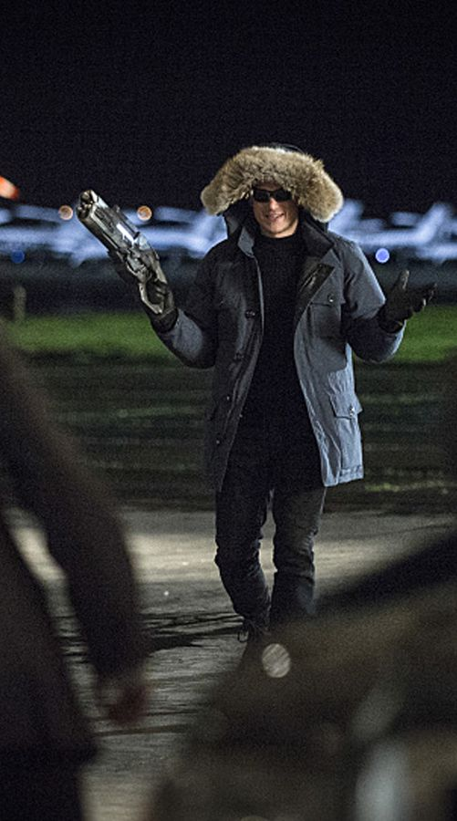The Flash 1x10 - Wentworth Miller as Leonard Snart/Captain Cold