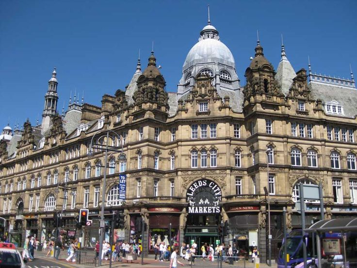 Leeds City Markets - Victorian Shopping Arcade : Architecture