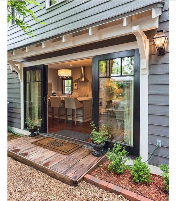 277 best doors and awnings images on pinterest for Double wide patio doors