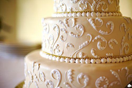 elegant wedding cake: Pretty Cake, Wedding Ideas, Weddings, Cake Ideas, Wedding Cakes, Dream Wedding, Beautiful Cakes, Cake Decorating, Gorgeous Cake