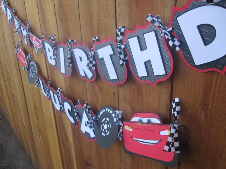 18 best Cars birthday images on Pinterest Cars birthday parties