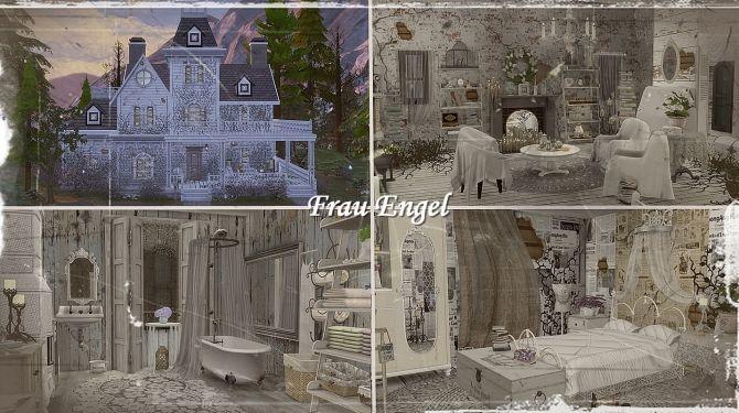 Shabby Rose cottage at Frau Engel • Sims 4 Updates