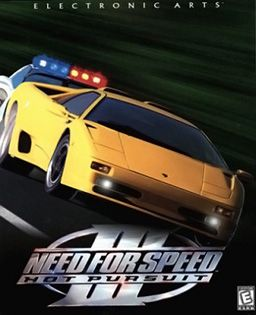 Need for Speed. I remember a long time ago we had this for pc. terrible graphics. hours of fun.
