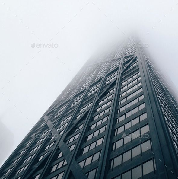 Looking Up Modern Buildings In Foggy Days In Chicago By Cocu Liu Looking Up Modern Buildings In Foggy Days In Chicago Foggy Modern Buildings Building Modern