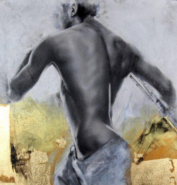 Talantbek Chekirov Soul of a Hero Acrylics   Contemporary Art
