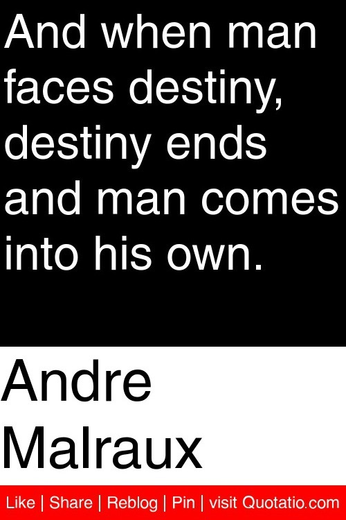 man is the maker of his own destiny Get an answer for 'man is the maker of his own destiny need an original story on it( )man is the maker of his own destiny need an original story on it( )' and find homework help for other literature questions at enotes.