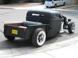 1942 Ford pick up rat rod.