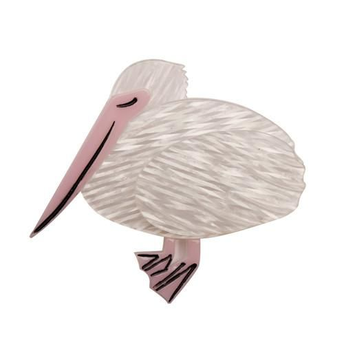 Erstwilder - Prudence the Pelican Brooch - 1