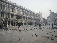 Plaza De San Marcos, Venecia, Plaza
