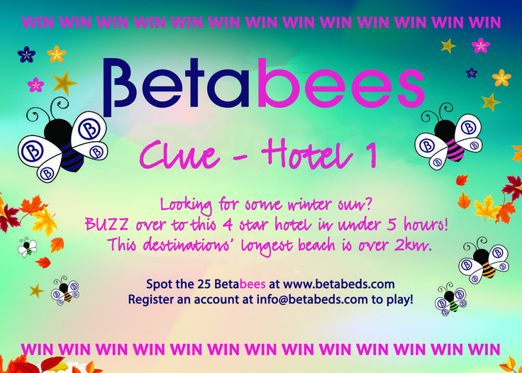 #Betabeds #Betabees clues 🐝 Can you spot all 25? 🐝#win #vouchers this October 🐝 #travel #trade #travelagents #wedoitBeta #competition #bees