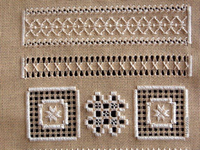 Bainhas abertas: White Work, Thread Whitework Sampler, Pull Work, Drawn Threadwork, Azour Drawn Thread, Thread Work, 1711 Msi, Pull Thread Whitework, Msi Sampler