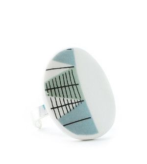 Ring Tebe - Ring manufactured from recycled porcelain. #rorstrand #porslinssmycke #smycke